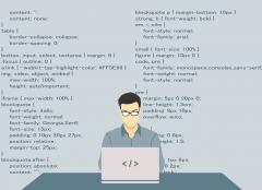 cartoon image of developer